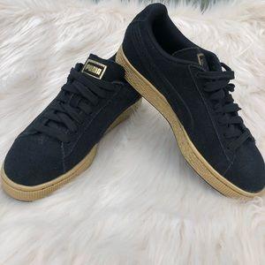 Puma shoes women black size 5C